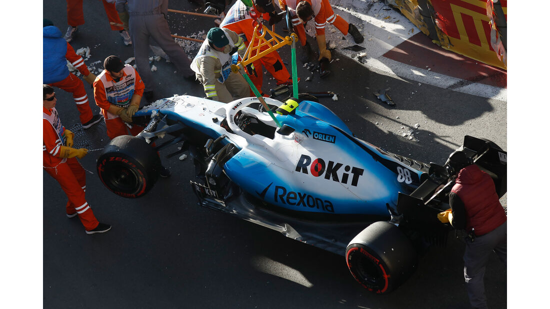 Robert Kubica - Williams - Formel 1 - GP Aserbaidschan - 27. April 2019
