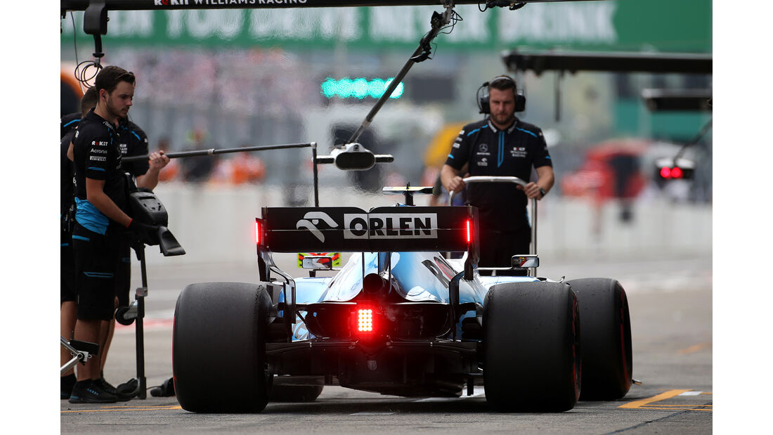 Robert Kubica - Williams - Formel 1 - GP Japan - Suzuka - 11. Oktober 2019