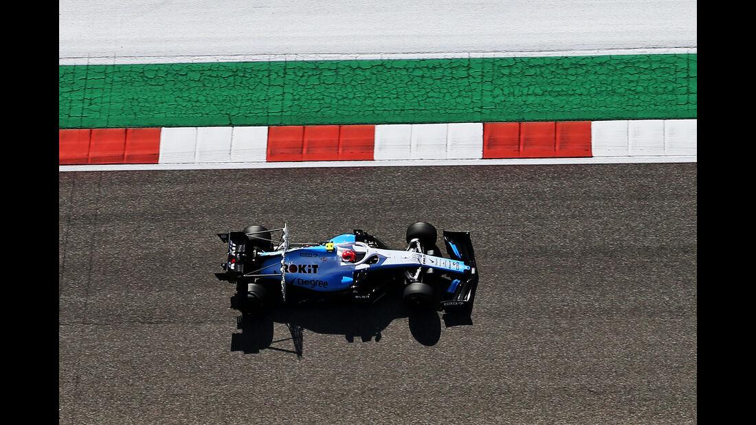 Robert Kubica - Williams - Formel 1 - GP USA - Austin - 1. November 2019