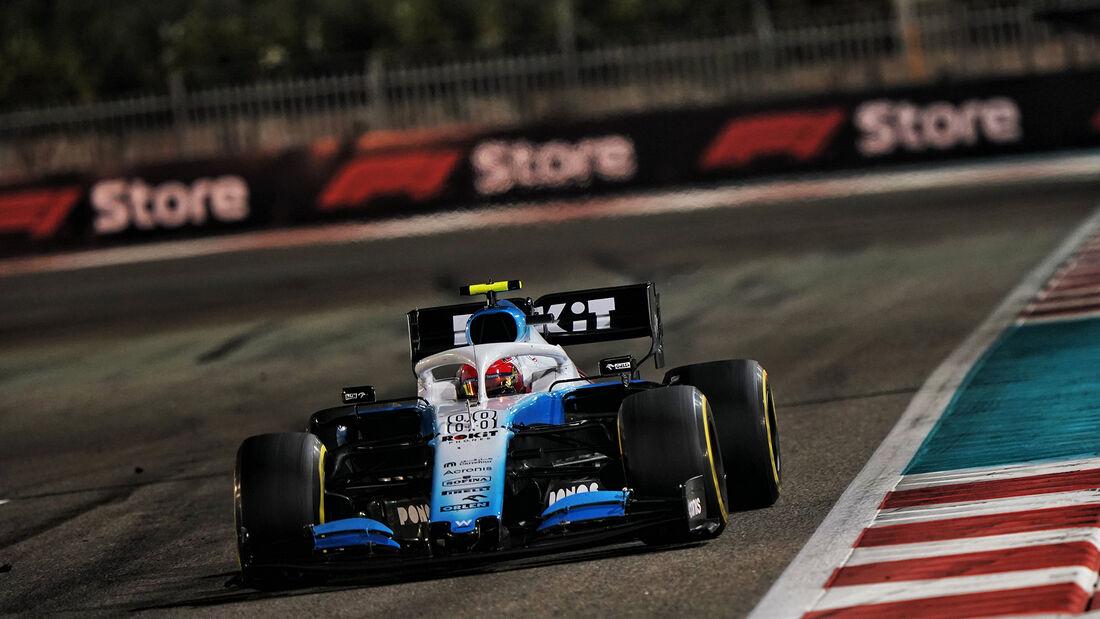 Robert Kubica - Williams - GP Abu Dhabi 2019 - Rennen