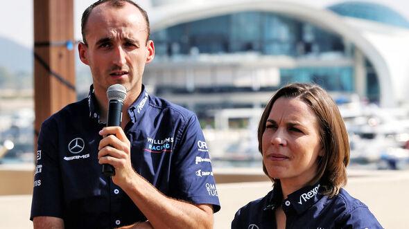 Robert Kubica - Williams - GP Abu Dhabi - Formel 1 - 22. November 2018
