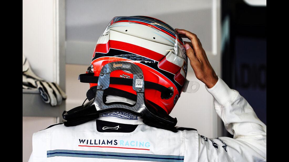 Robert Kubica - Williams - GP Abu Dhabi - Formel 1 - 23. November 2018