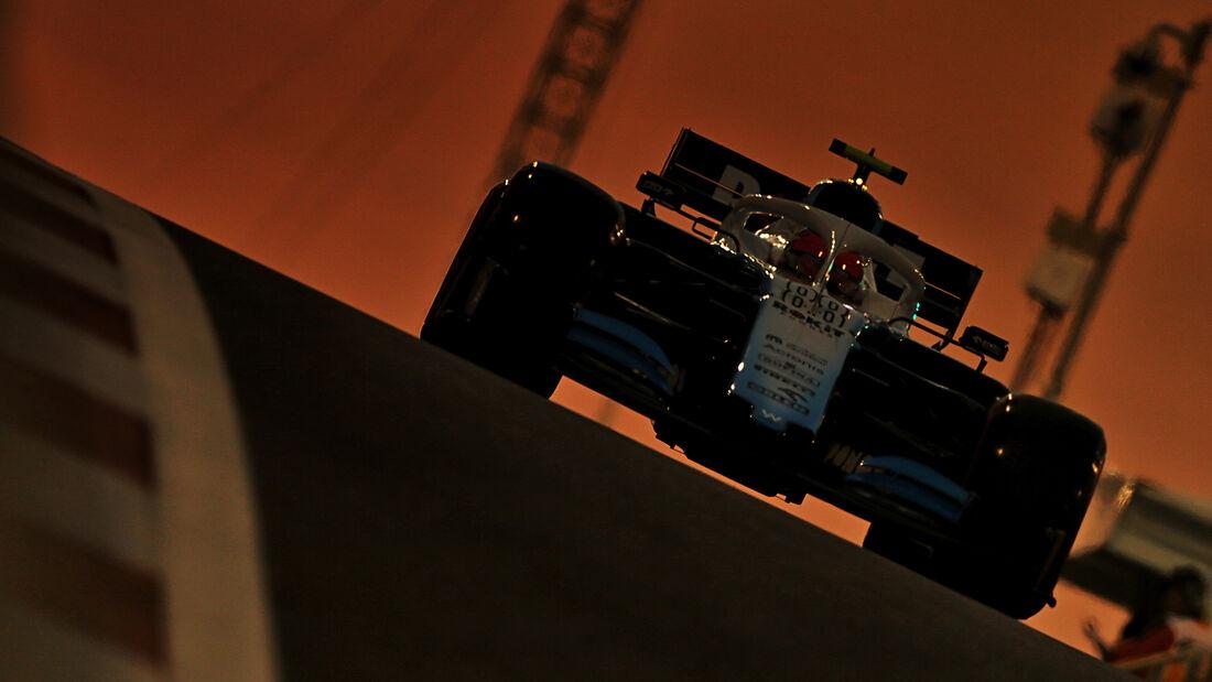 Robert Kubica - Williams - GP Abu Dhabi - Formel 1 - Freitag - 29.11.2019