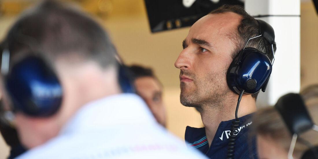 Robert Kubica - Williams - GP Australien 2018 - Melbourne - Albert Park - Freitag - 23.3.2018