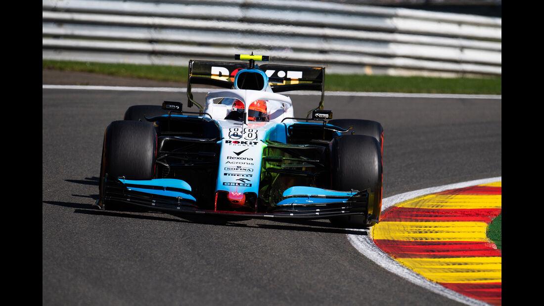 Robert Kubica - Williams - GP Belgien - Spa-Francorchamps - Formel 1 - Freitag - 30.8.2019