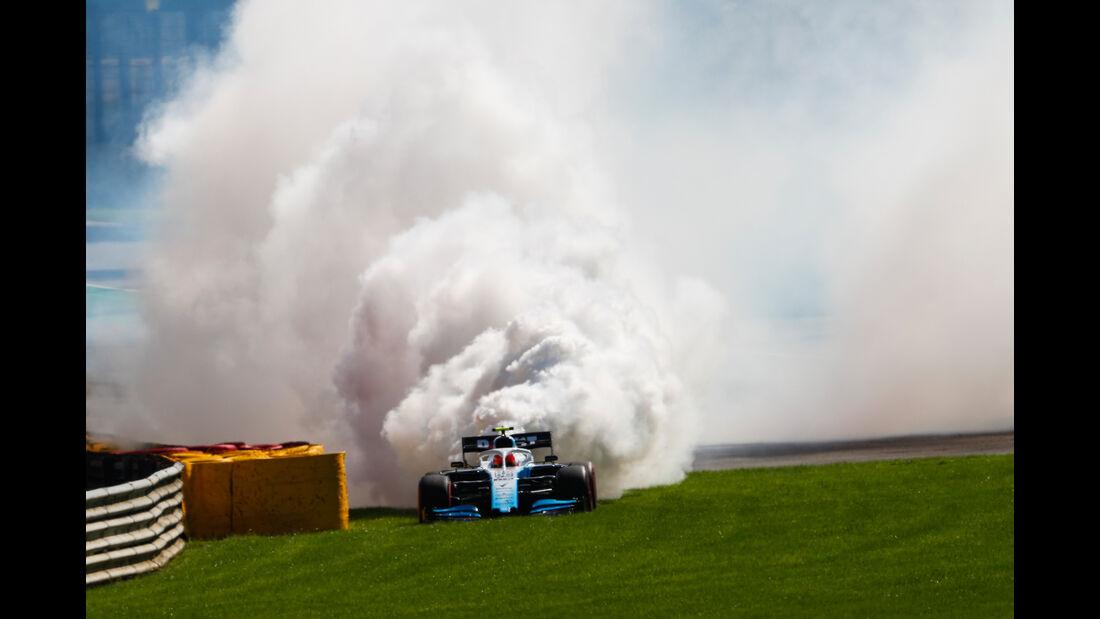 Robert Kubica - Williams - GP Belgien - Spa-Francorchamps - Formel 1 - Samstag - 31.8.2019