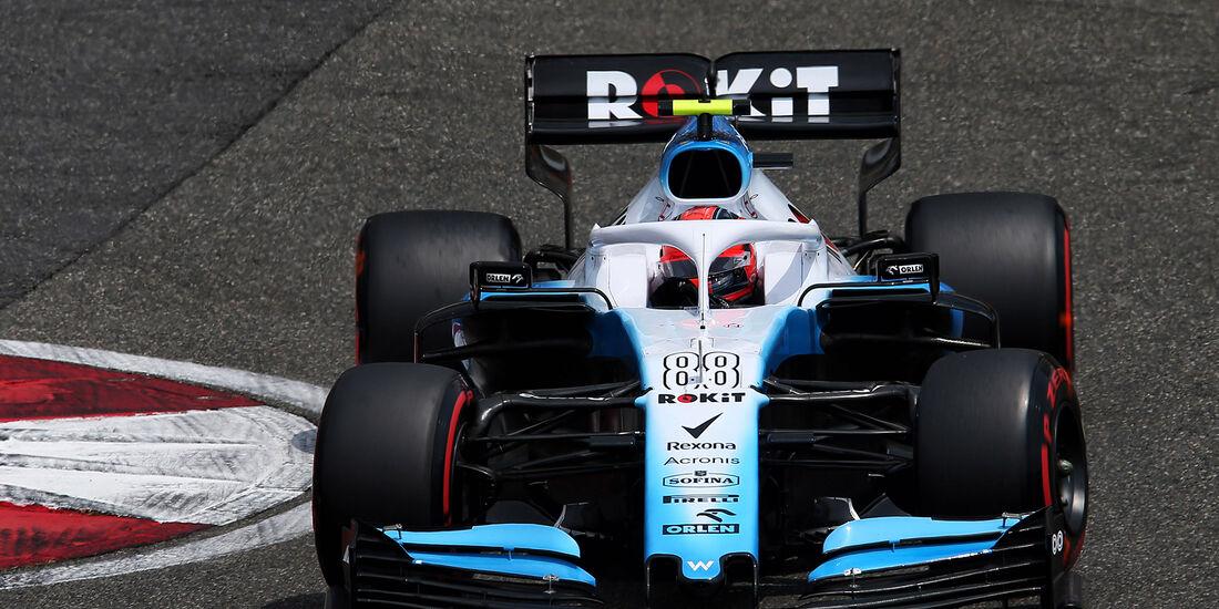 Robert Kubica -Williams -  GP China - Shanghai - Samstag - 13.4.2019