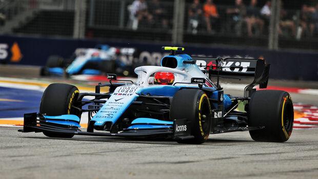 Robert Kubica - Williams - GP Singapur - Formel 1 - Freitag - 20.9.2019