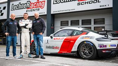 Robert Lechner - Eddy Waldhier - Walter Lechner Jr. - Super Racer