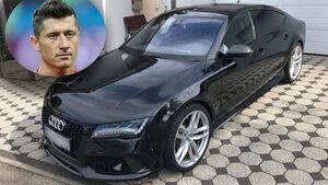 Robert Lewandowski Audi RS7