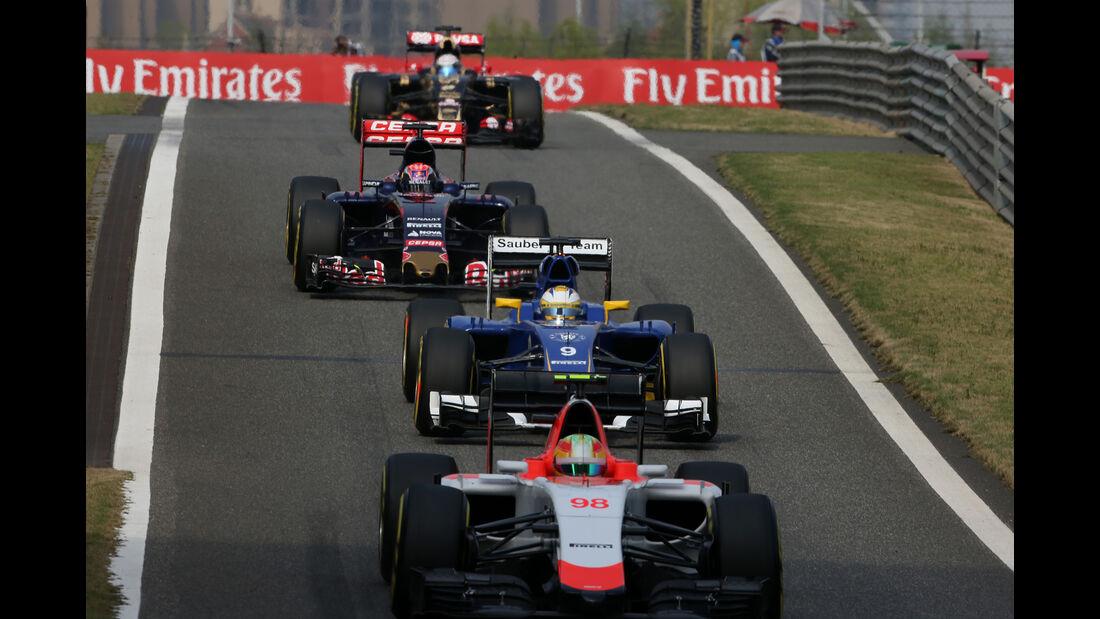 Robert Merhi - Manor-Marussia - Formel 1 - GP China - Shanghai - 11. April 2015