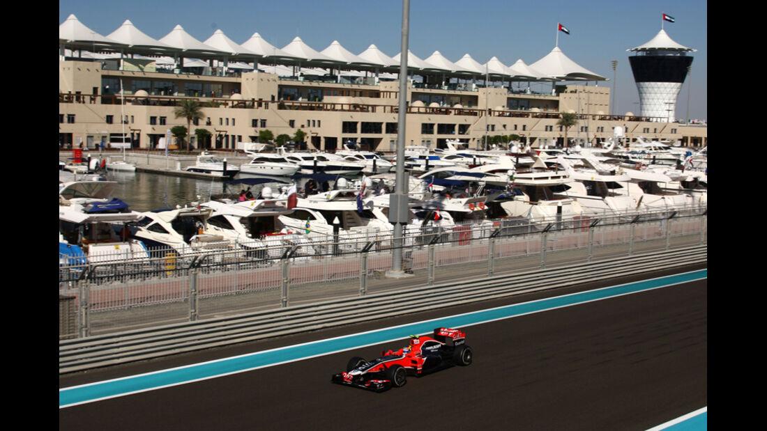 Robert Wickens - GP Abu Dhabi - Freies Training - 11. November 2011