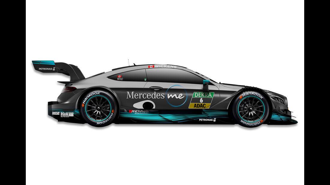 Robert Wickens - Mercedes - DTM-Auto 2017
