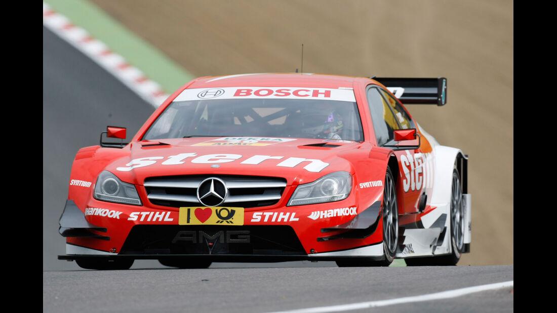 Robert Wickens Mercedes DTM Brands Hatch 2012