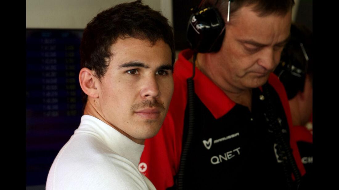 Robert Wickens - Virgin - Young Driver Test - Abu Dhabi - 17.11.2011