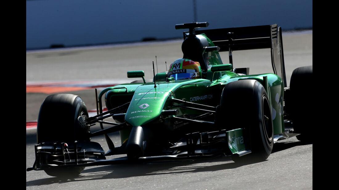 Roberto Merhi - Caterham - Formel 1 - GP Russland - 10. Oktober 2014