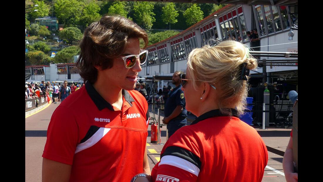 Roberto Merhi - Formel 1 - GP Monaco - Freitag - 22. Mai 2015