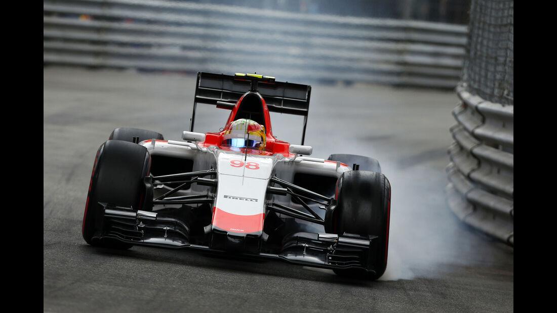 Roberto Merhi  - Formel 1 - GP Monaco - Sonntag - 24. Mai 2015