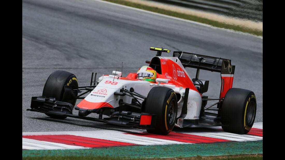 Roberto Merhi - Formel 1 - GP Österreich 2015