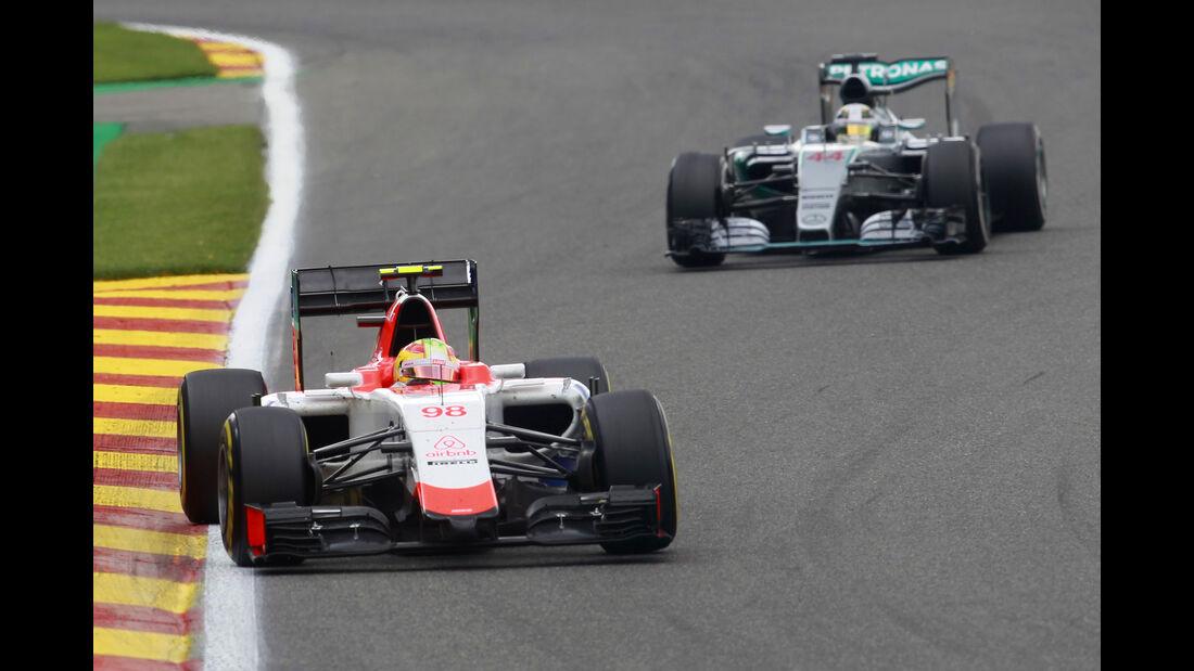 Roberto Merhi - GP Belgien 2015