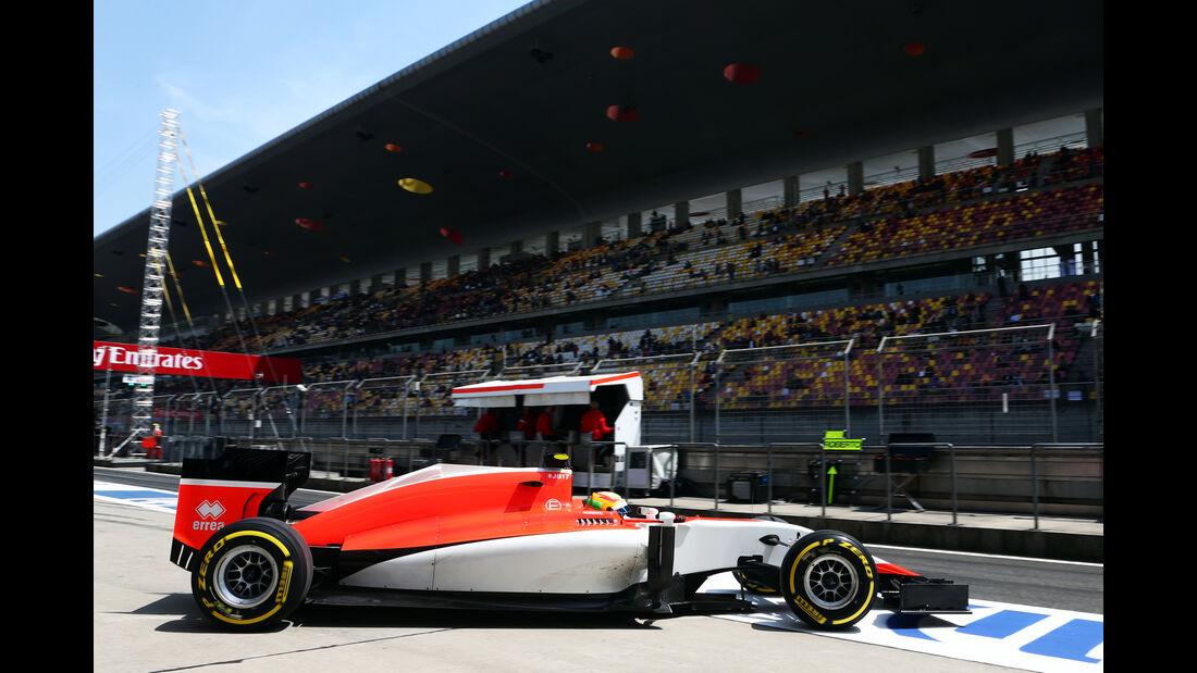 Roberto Merhi - GP China 2015