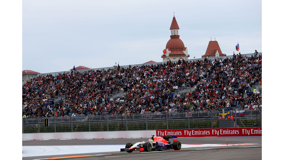 Roberto Merhi - Manor F1 - GP Russland 2015 - Sochi - Rennen