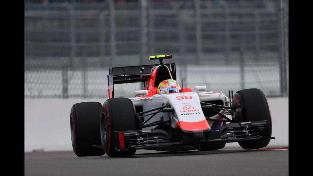 Roberto Merhi - Manor F1 - GP Russland - Qualifying - Samstag - 10.10.2015