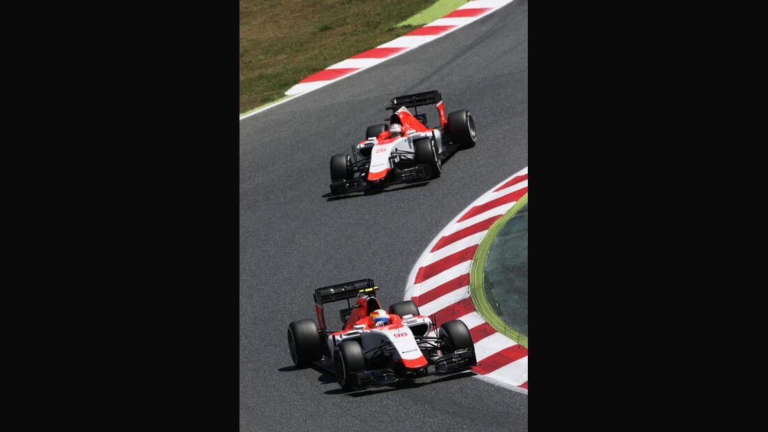 Roberto Merhi - Manor F1 - GP Spanien 2015 - Rennen - Sonntag - 10.5.2015