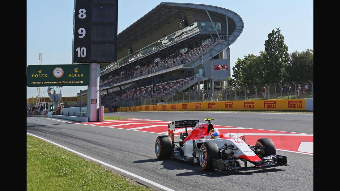 Roberto Merhi - Manor F1 - GP Spanien - Barcelona - Freitag - 8.5.2015