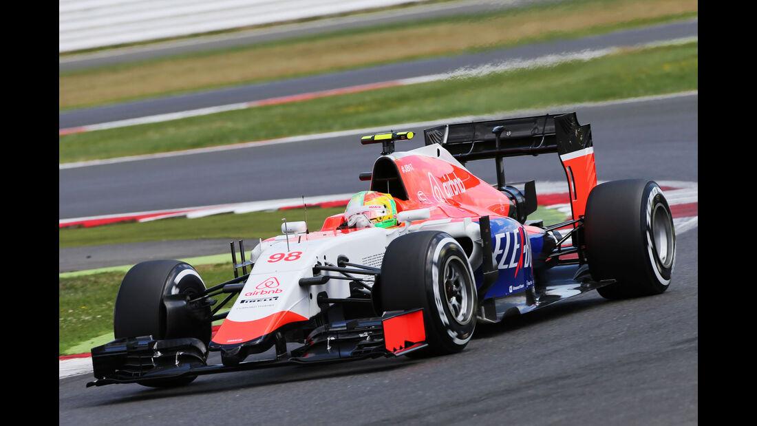 Roberto Merhi - Manor - GP England - Silverstone - Qualifying - Samstag - 4.7.2015