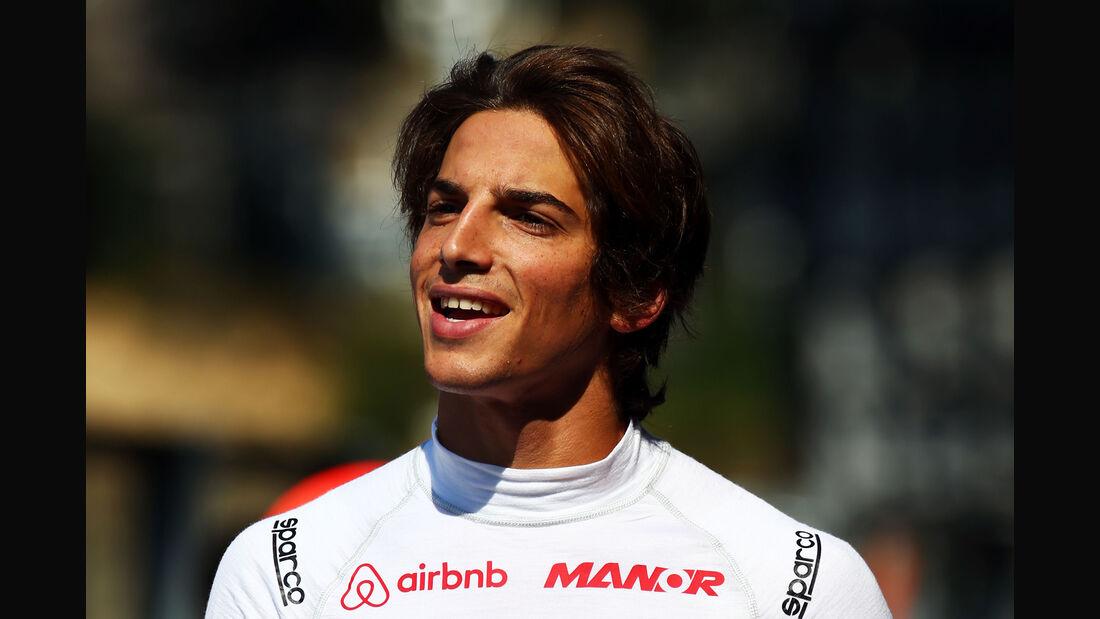 Roberto Merhi - Manor Marussia - Formel 1 - GP Belgien - Spa-Francorchamps - 21. August 2015
