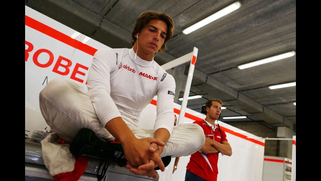 Roberto Merhi - Manor Marussia - Formel 1 - GP Belgien - Spa-Francorchamps - 22. August 2015