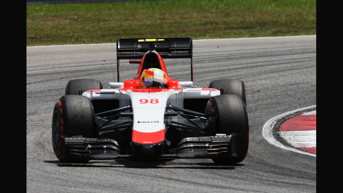 Roberto Merhi - Manor-Marussia - Formel 1 - GP Malaysia - 28. März 2015