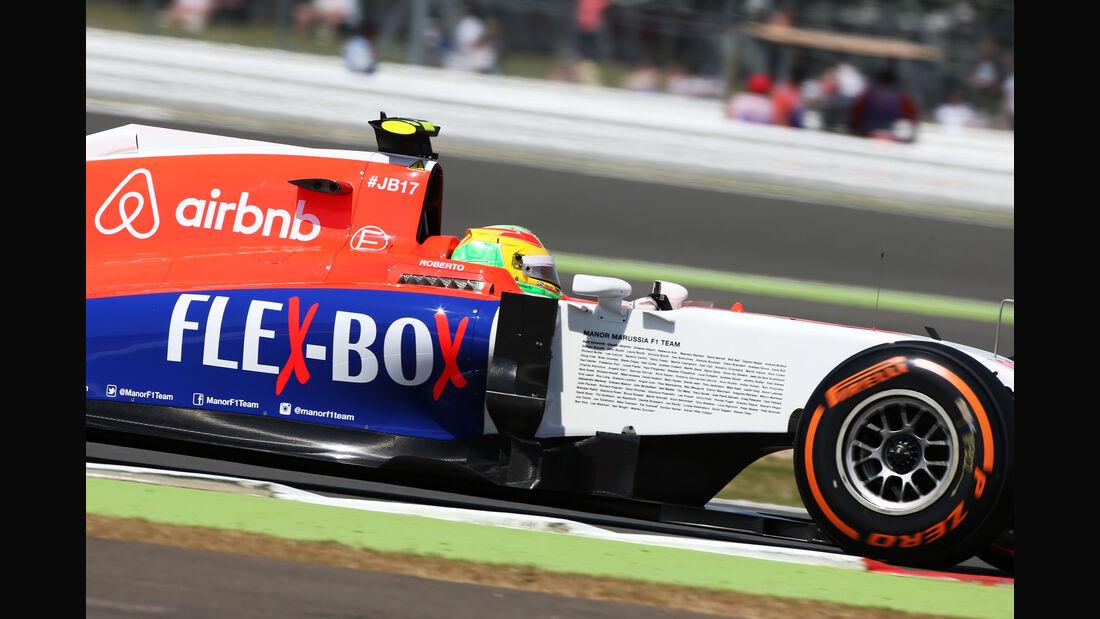 Roberto Merhi - Manor Marussia - GP England - Silverstone - Freitag - 3.7.2015