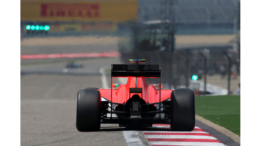 Roberto Merhi - Marussia - Formel 1 - GP China - Shanghai - 10. April 2015