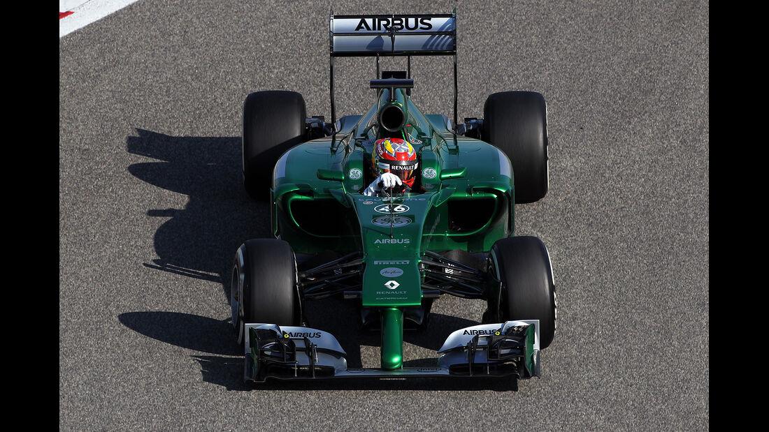 Robi Frijns - Caterham - Formel 1 - Bahrain - Test - 19. Februar 2014