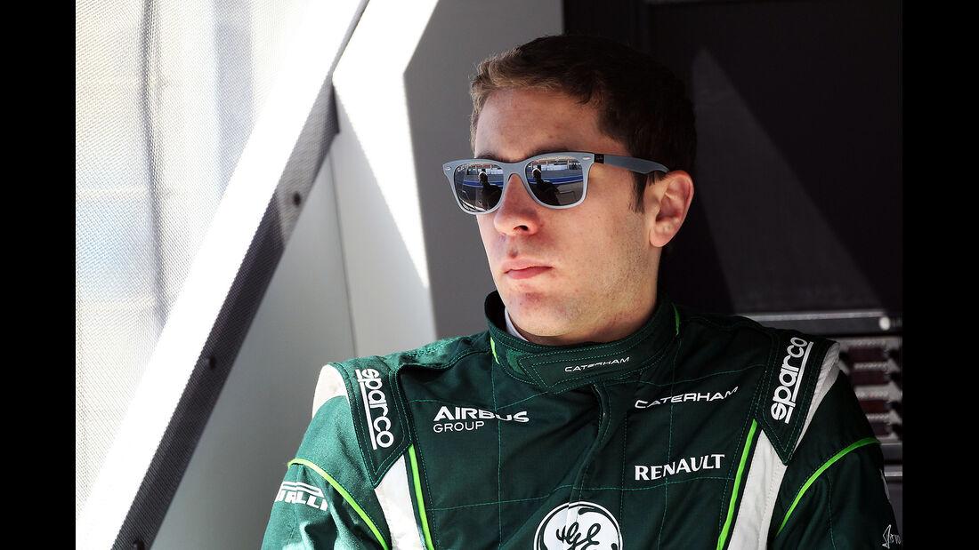 Robin Frijns - Caterham - Formel 1 - Bahrain - Test - 21. Februar 2014