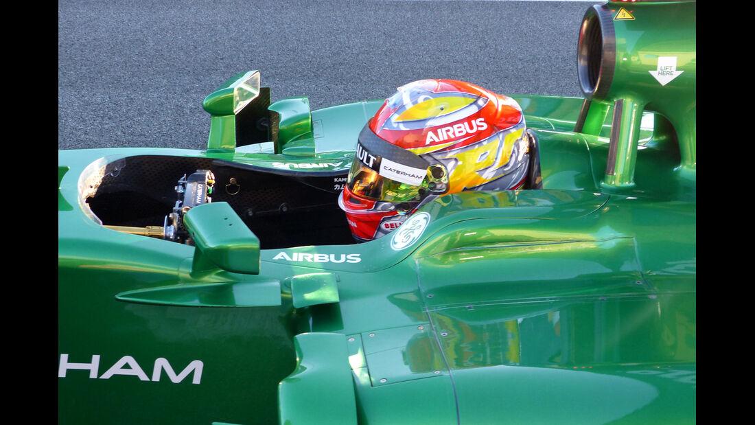 Robin Frijns - Caterham - Formel 1 - Jerez - Test - 30. Januar 2014