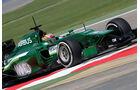 Robin Frijns - Caterham - Formel 1 - Test 1 - GP Bahrain 2014