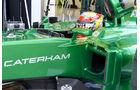 Robin Frijns - Caterham - Formel 1 - Test - Bahrain - 19. Februar 2014