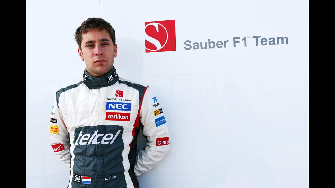 Robin Frijns - Sauber - Formel 1 - Young Driver Test - Silverstone - 18. Juli 2013