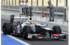 Robin Frijns Sauber Young Driver Test Abu Dhabi 2012