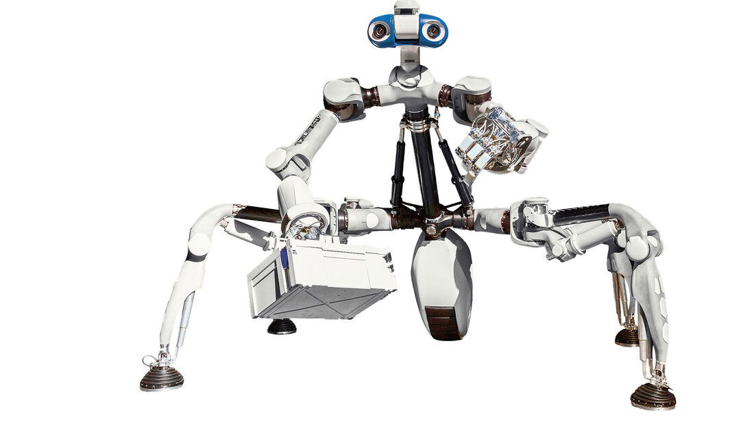 Roboter Mantis Porsche Egineering GmbH