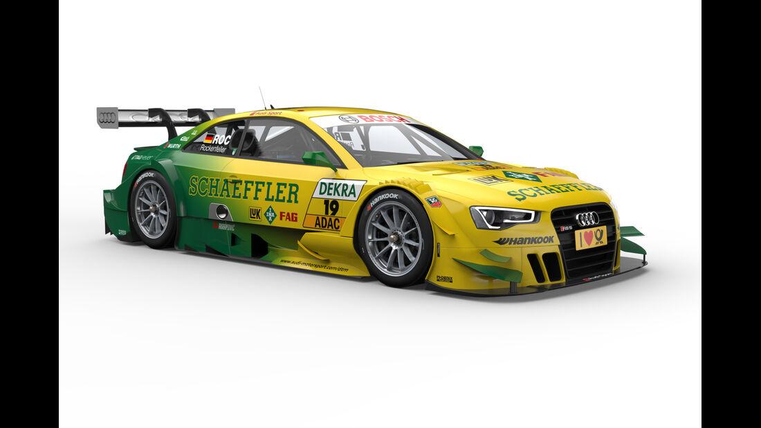 Rockenfeller Audi RS5 DTM 2013