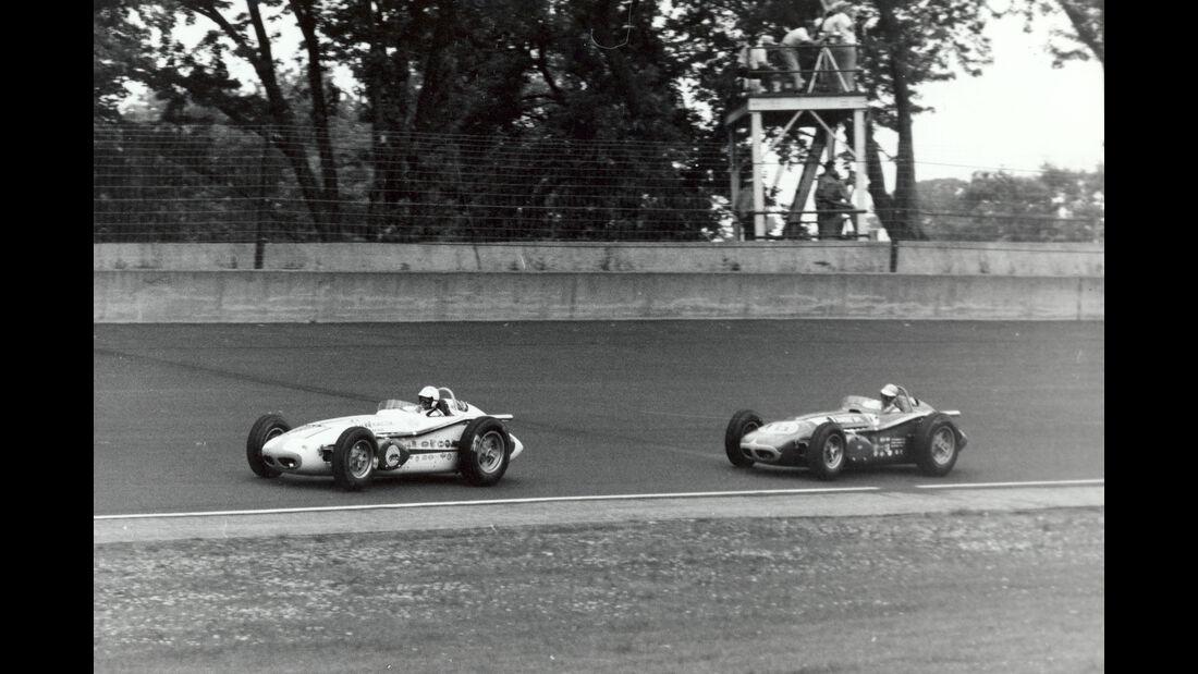 Rodger Ward - Jim Rathmann - Indy 500 - 1959 - Motorsport