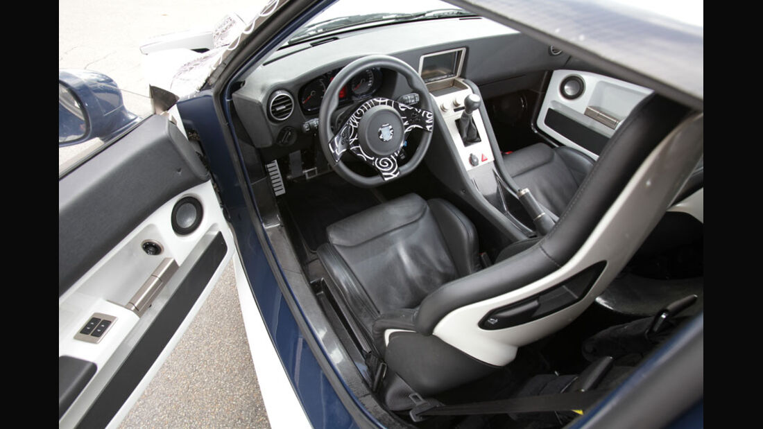 Roding Roadster, Innenraum, Cockpit