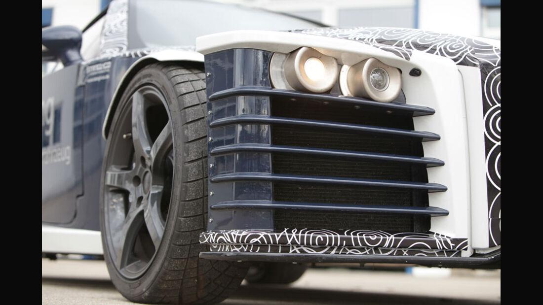 Roding Roadster, Scheinwerfer