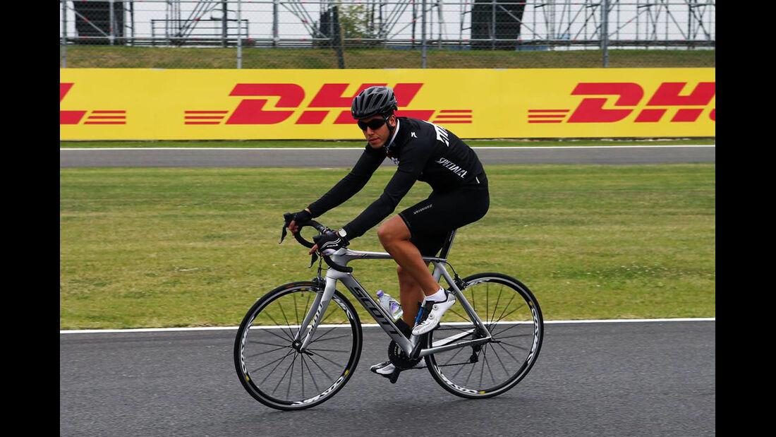 Rodolfo Gonzalez - Formel 1 - GP England - 27. Juni 2013