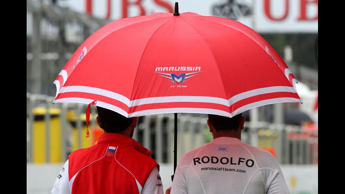 Rodolfo Gonzalez - Marussia - Formel 1 - GP Brasilien - 22. November 2013