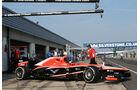 Rodolfo Gonzalez - Marussia - Formel 1 - Young Driver Test - Silverstone - 18. Juli 2013